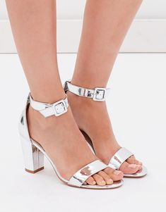 6d0418987dd Shop for Jeffrey Campbell Charmed Heel in Silver Clear at REVOLVE ...