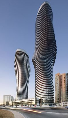 Canada's curvy 'Marilyn Monroe' is among award-winning skyscrapers.