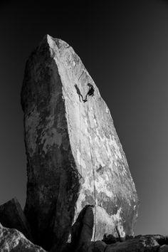 Climb something.