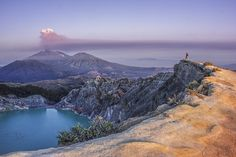 Ijen Crater and Mount Raung by Mohammad Ahsanol Arifin (Indonesia)