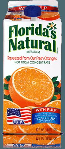 Florida's Natural Orange Juice Plus Calcium With Added Vitamin D