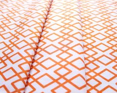 Riley Blake Lula Magnolia Lattice Orange C3774