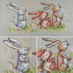 Adorable Bunnies, perfect for my journals.