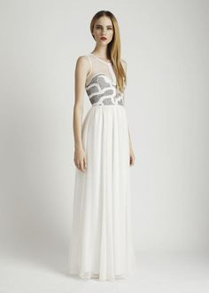 WHITE 12RG6635   ISABEY GOWN     Clothing   Rachel Gilbert