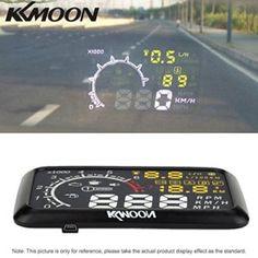 "KKmoon HUD Head Up Display 5.5"" Sistema Alerta Coche con Bluetooth"