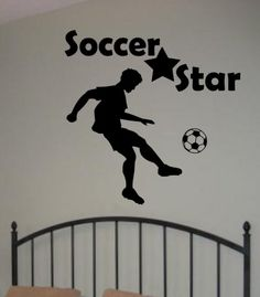 ⚽️ Football Shirt Stickers Vinyl Decals ⚽️ Bedroom ⚽️ Football Wall Art Sticker
