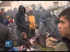 Nearly 7000 refugees enter Croatia per day