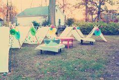 Movie night/Tents