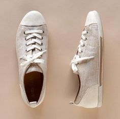 Kork-Ease Silva Sneakers: Made with renewable cork, leather accents and rubber soles. $135 #Sneakers #Cork #Kork_Ease