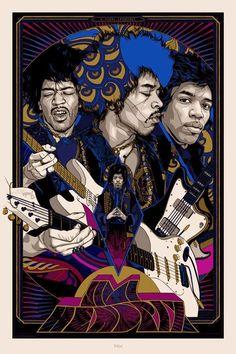 Jimi Hendrix - Tyler Stout ----