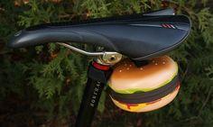 Cheeseburger Bicycle Bag