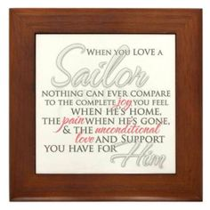 Words navy wives live by