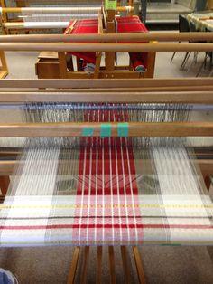 Linge à vaisselle M&O tissé coton-lin naturel 25 X 38 Weaving Designs, Weaving Projects, Weaving Patterns, Knitting Patterns, Tablet Weaving, Loom Weaving, Hand Weaving, Weaving Techniques, Loom Knitting