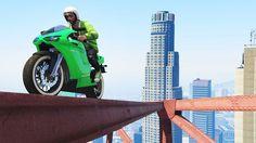 DRIVING UP BRIDGES! (GTA 5 Funny Moments)