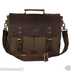 Womens Canvas Leather 13