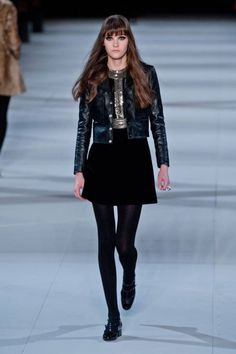 Saint Laurent Fall 2014 Ready-to-Wear Runway - Saint Laurent Ready-to-Wear Collection