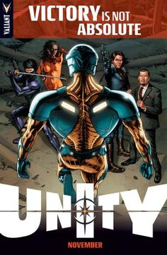 "Valiant Entertainment Teases ""Unity"" - Comic Book Resources"