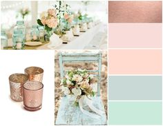 Pink Rose Gold Wedding Color Schemes wedding color palette inspiration blush and bow ties amandas we Rose Gold Color Palette, Gold Color Palettes, Gold Color Scheme, Colour Schemes, Wedding Color Schemes, Wedding Colour Palettes, Color Combinations, Rose Gold Colour, Blush Wedding Palette