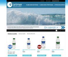 www.orimer.com (magento)  boutique dédié au plasma marin