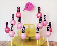 Nail Polish Cake Pops by myangelpops on Etsy Spa Cookies, Cupcake Cookies, Pink Cupcakes, Spa Party Cakes, Birthday Cake Pops, Make Up Cake, Nail Polish Cake, 30th Party, Cake Pop Designs