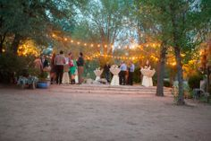 Wedding Reception, Juniper Well Ranch, Wedding Planner: Something Old Something Older - Arizona Wedding http://caratsandcake.com/thesweetins