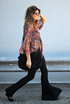 knit flare, flare leggings, flare pants, free people, suede bag by @itsnotthatdeep