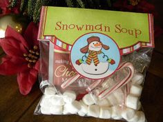 FlipChick Designs: Christmas Treat Bag Toppers
