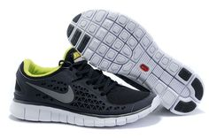 low priced 7e317 3abc2 Mens Nike Free Run Black Stealth Volt Nike Shoes For Sale, Nike Shoes  Outlet,