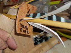 Homemade fletching jig