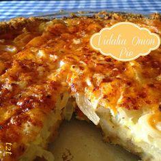 Cheddar and Ritz Cracker Vidalia Onion Pie | Turnips 2 Tangerines
