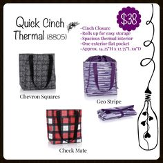 Quick Cinch Thermal, Fall 2017, Thirty-One