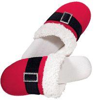Santa Bling Slipper. Reg. $14.99 Sale $7.99