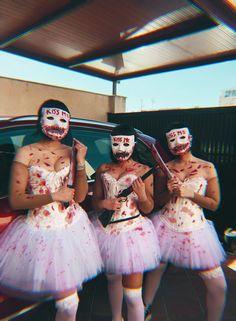 Halloween Costumes For Teens Girls, Best Friend Halloween Costumes, Trendy Halloween, Halloween Kostüm, Halloween Costumes For Girls, Maquillage Halloween, Halloween Disfraces, Cosplay, Creative Couple Costumes