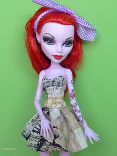 Vestido para Monster High