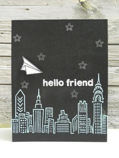 Hello Friend by Jingle - FS396 Cards and Paper Crafts at Splitcoaststampers