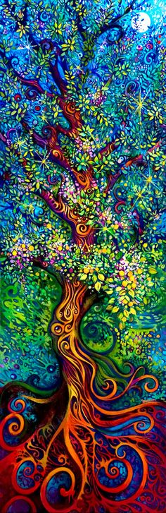 Tree of Life - Fine Art Print - 8x10 High Quality Archival Card Stock - Original Art by Laura Zollar