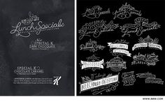 Specs and Wings: Chalkboard Lettering Inspiration! Chalkboard Lettering, Chalkboard Ideas, Typography Letters, Graphic Design Branding, Typography Design, Hand Lettering Styles, Craft Show Displays, Chalk Talk, Chalk Board