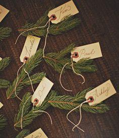 DIY Noël : 6 idées à faire avec des branches de sapin - Marie Claire Idées / marque place noel diy
