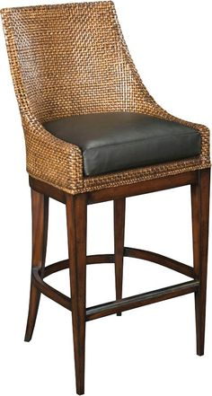 Browse a wide selection of bar and counter stools at EuroLux Home. When you buy counter stools with us, you know you're getting uniquely beautiful items. Wicker Bar Stools, Rattan Stool, Wooden Dining Room Chairs, 24 Bar Stools, Swivel Bar Stools, Counter Stools, Bar Counter, Swivel Chair, Ikea Chairs