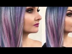 Stylist captures the magic of moonstone with this multidimensional color melt
