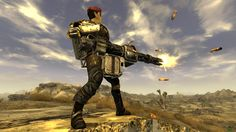 Minigun long wind-up (spin-up) restoration at Fallout New Vegas - mods and community