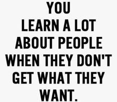 Then u can learn alot about me !!!! That's for sure