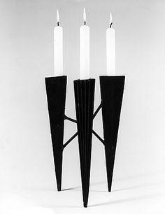 Lynn Chadwick-'Three Candle Holder I Elaine Baker Gallery