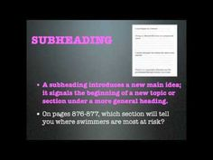 <p>This video has a rap and slideshow about text features used in informational texts. Text features include: captions, subheadings, bulleted lists, titles, and sidebars.</p>