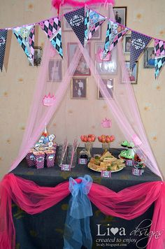 DIY: Monster High Party
