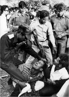 The Bangladesh Liberation War. 1971.
