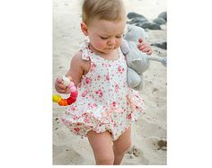Baby romper pdf sewing pattern easy baby girls par FelicityPatterns