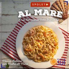 Camarão ao Vinho Branco: delícia do Spoleto preparada especialmente pra você.