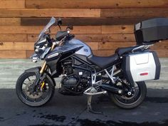 Used 2013 Triumph Tiger Explorer Motorcycles For Sale in California,CA. 2013 Triumph Tiger Explorer, Loaded and in amazing condition! 2013 Explorer done up just the way you'd want with almost every accessory you can think of. Radiator guards Engine guards Arrow Exhaust Top case Side bags Tall windscreen GPS w/mount Accessory lights Bar riser Off road pegs Comfort seat As new this bike was over $22,000. A STEAL at $15895 Only 7412 miles. 2013 Triumph Tiger Explorer The Tiger Explorer brings a…