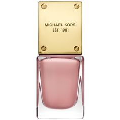 Michael Kors Sporty Nail Lacquer ($18) ❤ liked on Polyvore featuring beauty products, nail care, nail polish, makeup, nails, beauty, coquette and michael kors
